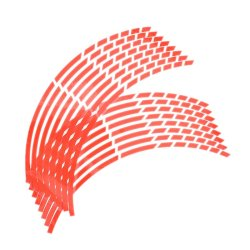 Jetting Buy Car Wheel Tire Stickers Flame Styling 16Pcs Red