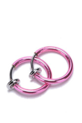 Jetting Buy Punk Clip On Earring (Pink)