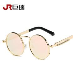 687007432fe71 Jurui Brand European style mirror new round sunglasses retro Prince  colorful Sunglasses spring leg glasses too