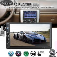 Jvgood 7 Double Din Touchscreen In Dash Bluetooth Car Stereo Mp3 Audio 1080p Video Player Fm Radio/tf/ Usb/ Aux-In/rear View Camera + Remote Control(no Cd/dvd & Gps) By Jvgood