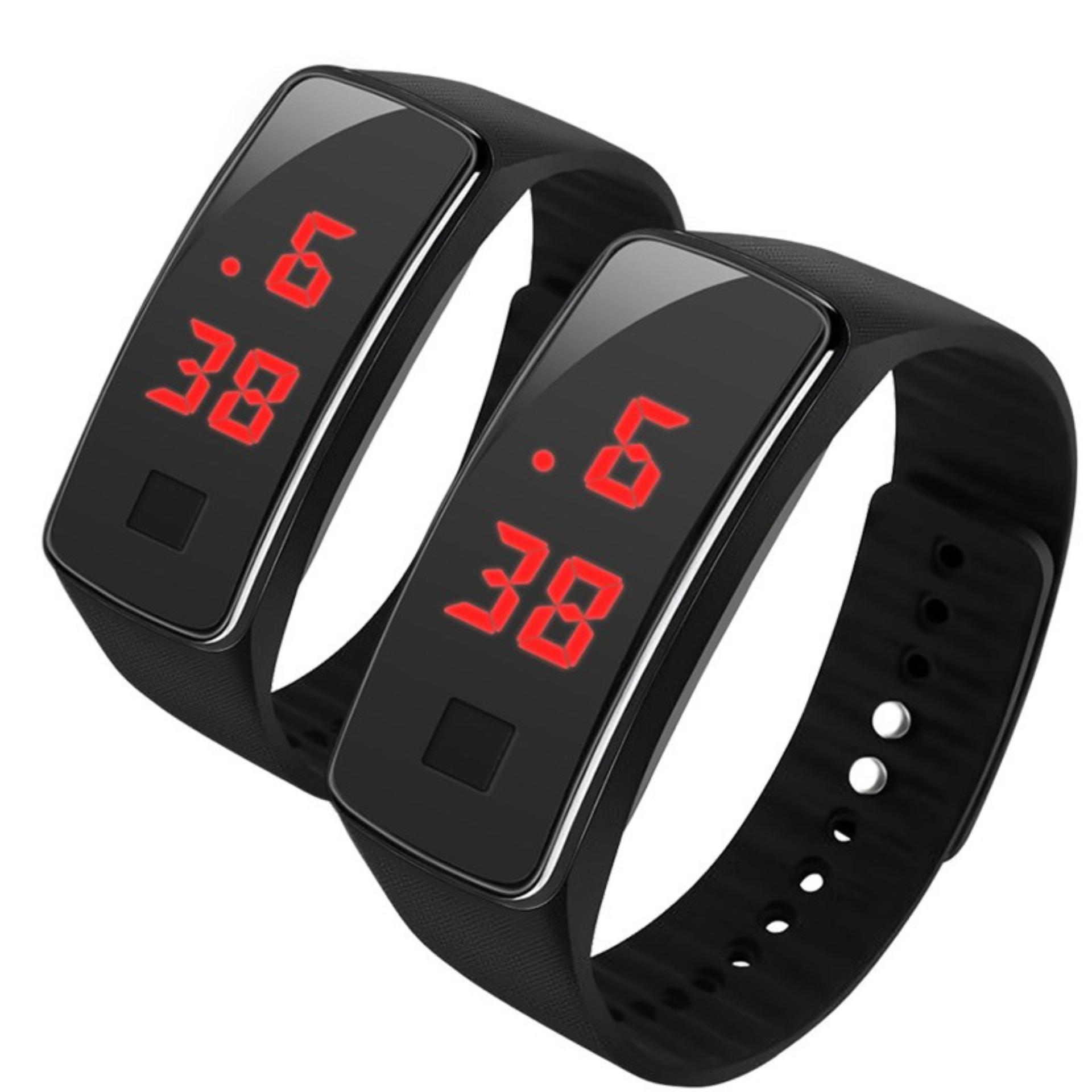 KINGDO L7 LED Watch for Kids set of 2