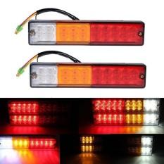 Kobwa Waterproof , 2pcs 20-LED Car Truck LED Trailer Tail Lights Turn Signal Reverse