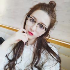 fb347dabfc6 KS Studio New Style Plain Glasses women Korean Style Cool Fashion Retro  Glasses Frame Large Box