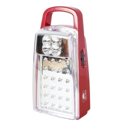 CPT Kyowa KW9125 Rechargeable LED Lamp (Red)
