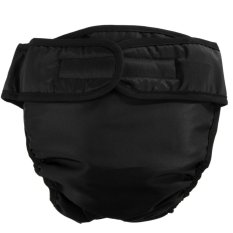 Sanitary Physiological Washable Pants for Dog Underwear(Black)-M - intl Philippines