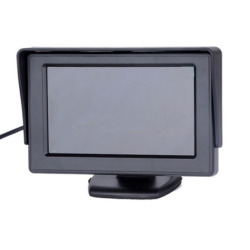 LCD Car Rearview Monitor Reverse Camera (Black)