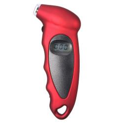 LCD Tire Digital Air Pressure Gauge Meter Tool (Red)