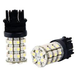 LED Car Front Rear Turn Light Bulb Lamp White Amber(2pcs)