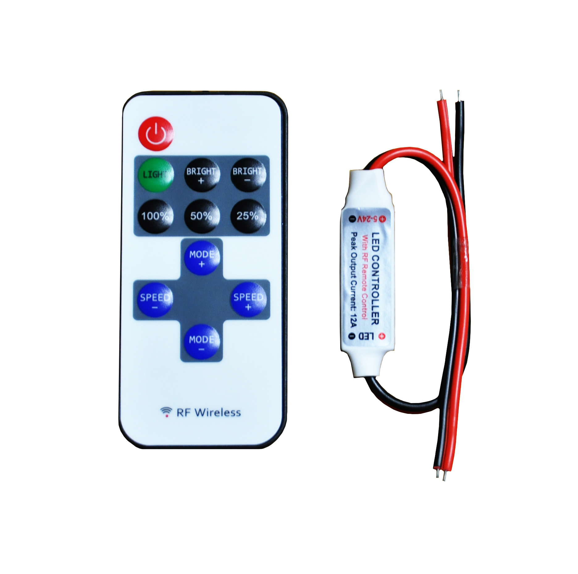 Led Controller RF Wireless Remote