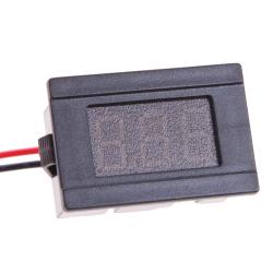 LED Voltmeter Digital Volt Meter Automobile Motorcycle Red