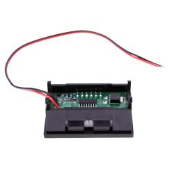 LED Voltmeter Digital Volt Meter Gauge Automobile Motorcycle Red