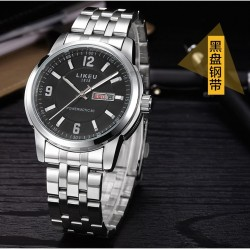 Likeu stainless steel watch