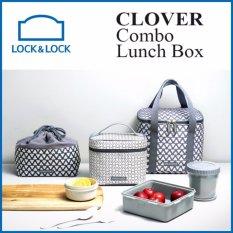 Lock n Lock Korea CLOVER Combo Lunch Box - intl