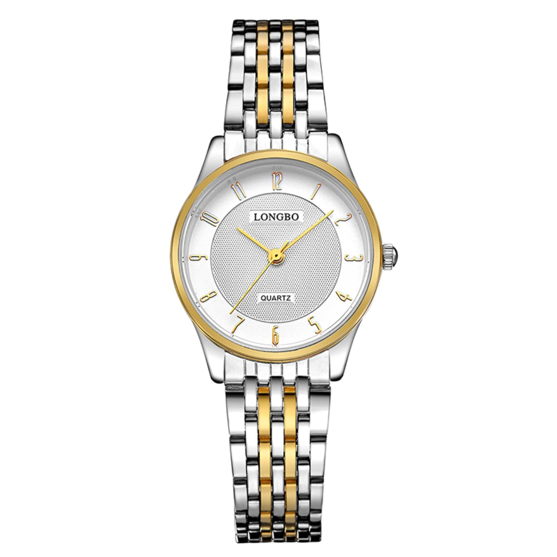 LONGBO Stainless Steel Strap Simple Business Casual Quartz Watch For Womens Fashion 80280 - intl