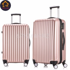 Love&home Buy One Take One Couples Suitcase (rose Gold)-Intl By Love&home.