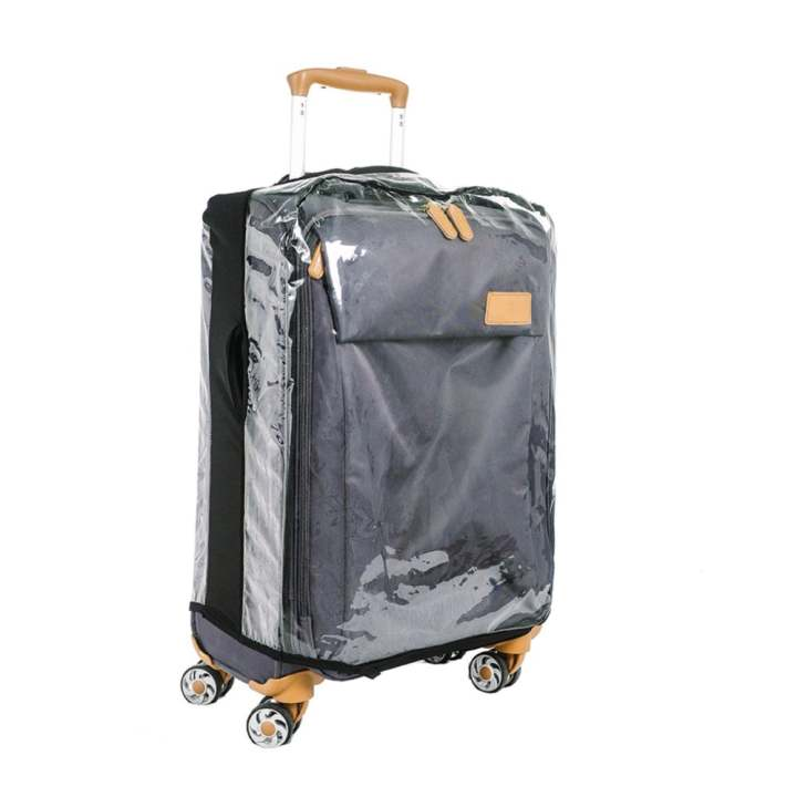Luggage Cover Clear Plastic Small
