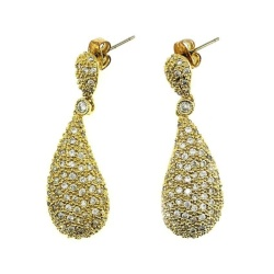Luxor Jewelry 3321LX Earring (Gold)