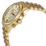 2a93292f2af0 Michael Kors Lexington Chronograph Women s Gold Stainless Steel Strap Watch  MK5556