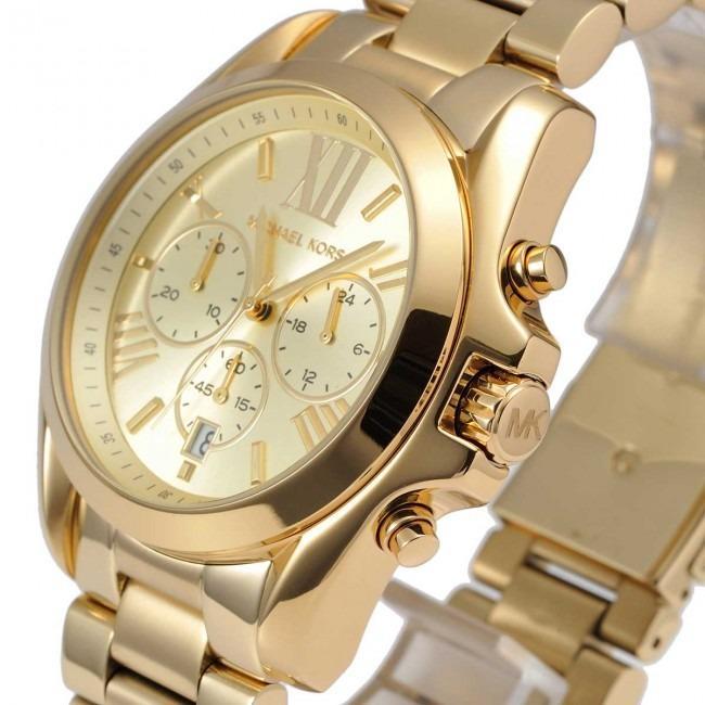 Michael Kors MK5605 Bradshaw Gold-Tone Unisex Watch by Primaglenda International