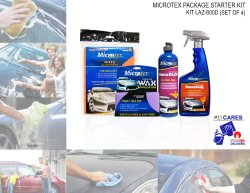 Microtex 800D Car Care Kits, 4-piece Set (Bundle Series)