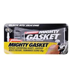 Mighty Gasket - Black Rtv Silicon 85g (pioneer) By L.m. Enterprises.