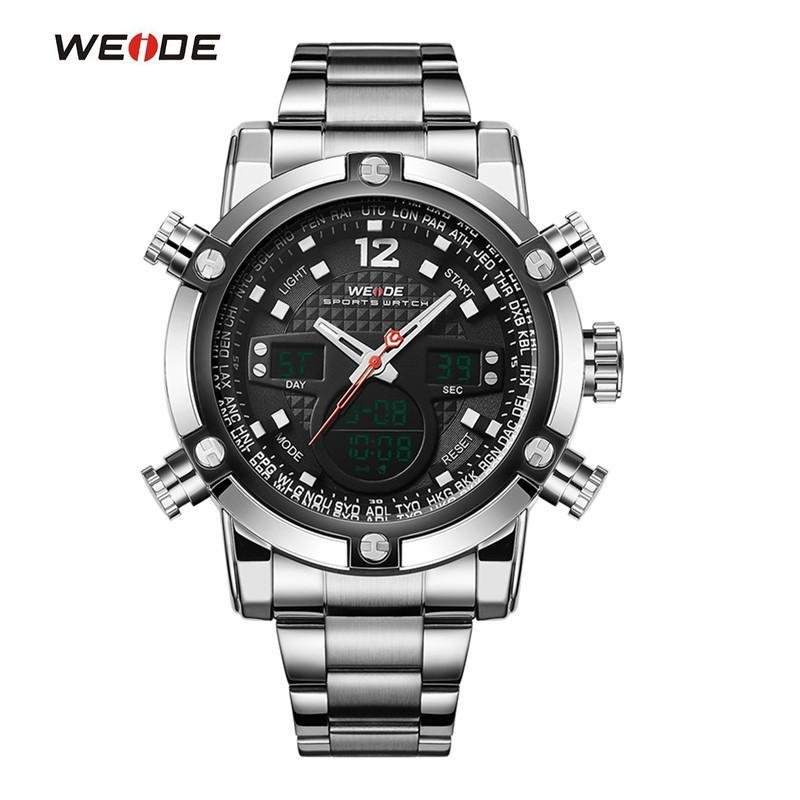 Military Watch Men 's Smart Waterproof Watch Special Luminous- Black - intl