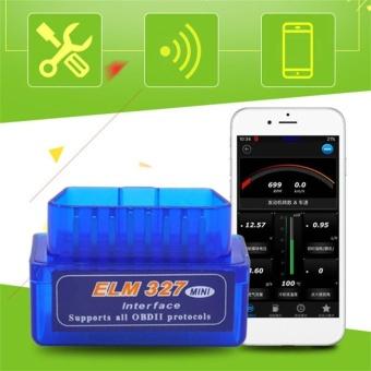 Mini ELM327 OBD2 II Bluetooth Car Diagnostic Tool Portable Auto Scanner - intl
