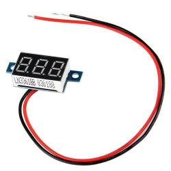 Mini Green Led Digital Voltmeter Volt Meter Panel