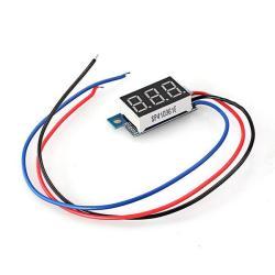 Mini LED Electric Digital Voltmeter Panel