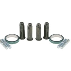 Miracle Shining 10pcs Exhaust Studs Nuts Gasket Kits For Gy6 50cc - 150cc Qmb139 Scooter - Intl By Miracle Shining.