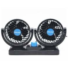 Mitchell Hx-T303 Double Headed Vehicle Fan By Happy Choice.
