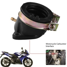 Motorcycle Carburetor Intake Interface Carb Adapter For Honda Cn250 Helix 1987-1998 - Intl By Sweatbuy.
