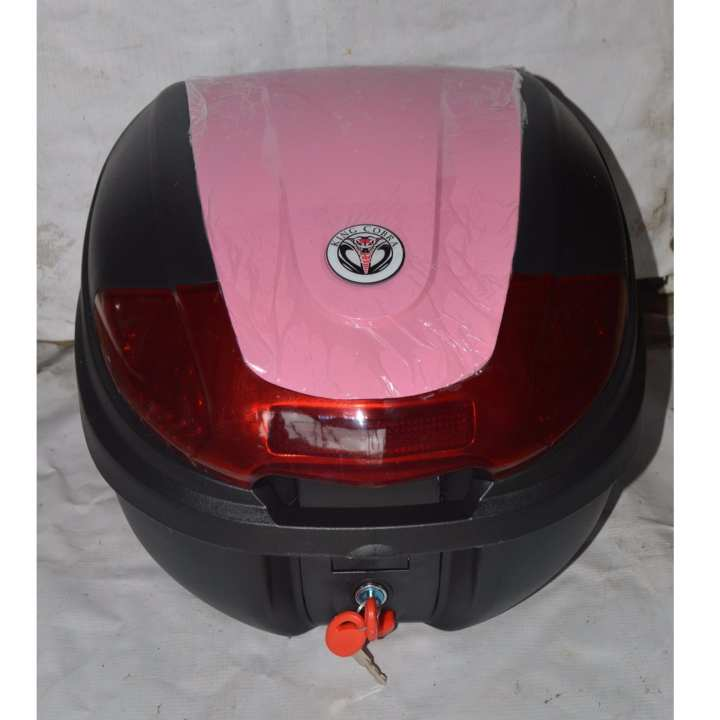 Motorcycle Compartment Box Cobra Plain