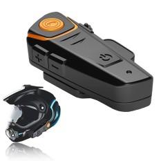 Motorcycle Helmet Intercom Interphone BT-S2 1000m MotorBike Bluetooth Headset Wireless BT Auto Answer +