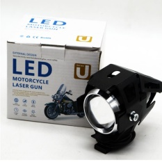 Motorcycle Led Headlight Laser Spot Light By Panalodeals Home.