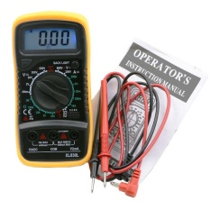 Multi Tester Ohmmeter Ac Dc Voltmeter Lcd Digital Multimeter Volt Tester Meter - Intl By Dueplay.