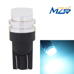 MZ T10 5W 300lm COB 3D LED Car Clearance Lamp Ice Blue Light (12V)