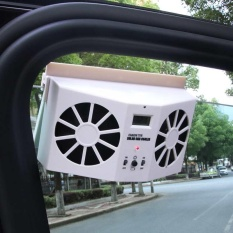 New Arrival Summer Auto Accessories Air Vent Cool Fan Radiator Car Solar Powered - Intl By Brisky.