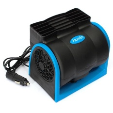 New Auto Vehicle Truck Cooling Air Fan Speed Cool Cooler Adjustable Dc 12v - Intl By Threegold.