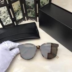 b7a25ebf5e4 New Gentle man or Women Monster eyeware V brand BLACK PETER 034 sunglasses  -leopard frame