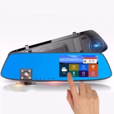 New Touch Screen Rearview Mirror Dash Camera A075 By Uj Store.