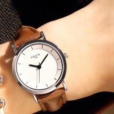 New Watch Women Faux Lady Dress Watch, Womens Bracelet Simple Casual Leather Watches Quartz-watch Analog Wristwatch ...