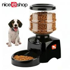 Cat Food Dispenser Pet Dog Feeder Bowl Automatic Auto Puppy Dish Animal Meal Pet Supplies Dishes, Feeders & Fountains