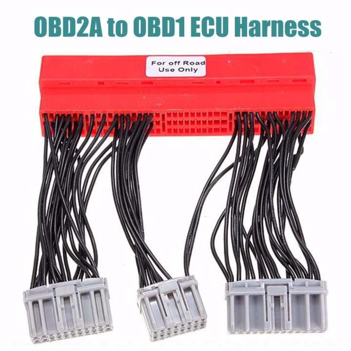 obd2a honda wiring harness    obd2a    to obd1 ecu adapter jumper conversion    wire       harness        obd2a    to obd1 ecu adapter jumper conversion    wire       harness