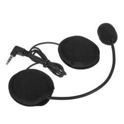 OEM Headset with Mic Bluetooth untuk Motorcycle Helmet - Hitam