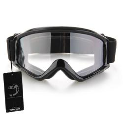 OEM Motorcycle Enduro Off-Road Goggles - Hitam