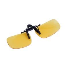 ca7f75e4281 OH Driving Night Vision Clip-on Flip-up Lens Sunglasses Glasses Cool Eyewear  Night