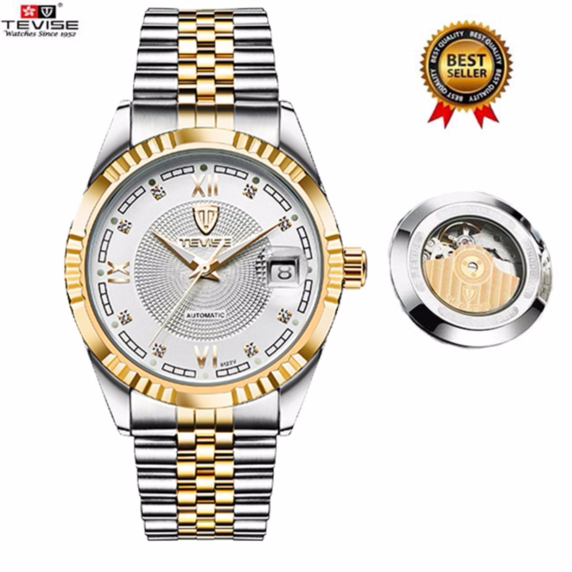 65d4cb193f9 Original TEVISE Mens Watches Automatic Mechanical Men Watch Mens  Wristwatches Luxury Men Boys Watches Clock relogio