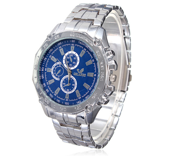 ORLANDO Stainless steel Waterproof Quartz Luxury Men Wrist Watch product preview, discount at cheapest price