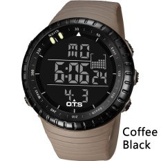 OTS Digital Watch Men Sports Watches 50M Waterproof Swimming Large Dial Hours Clock Military Wristwatches Man Relogio Masculino 7005 - intl